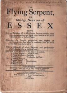 The Flying Serpent or Strange News Out Of Essex